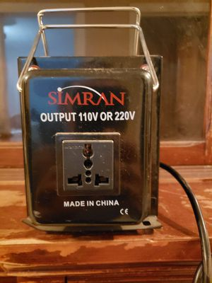 Up down AC converter for Sale in Visalia, CA