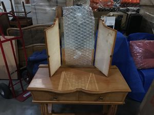 Antique Contemporary Fine Makeup Vanity for Sale in Portland, OR