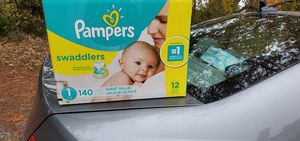 Size 1 baby diapers for Sale in Portsmouth, VA