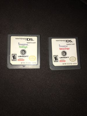 Nintendo DS imagine Lot Of 2 for Sale in Davenport, IA