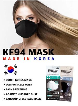 Four KF94 Black Face Mask for Sale in Carson, CA