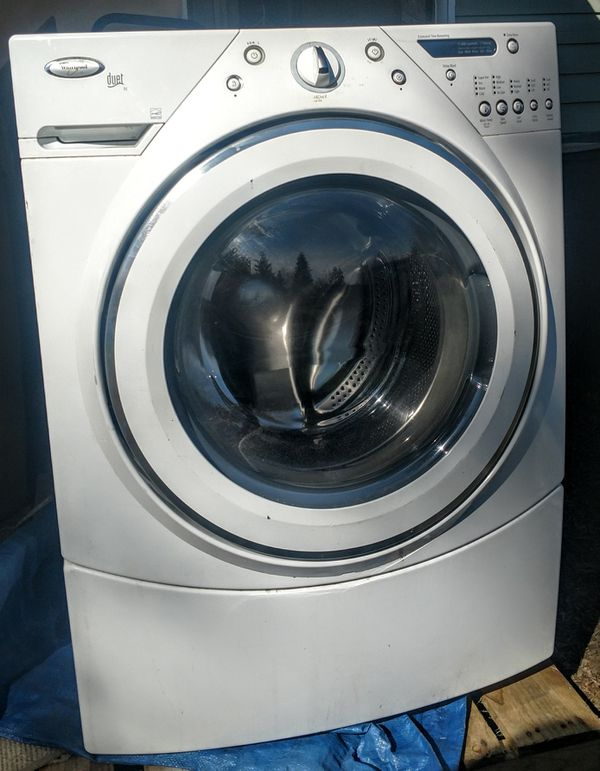 Whirlpool Electric Washer Dryer Pair Quot Duet Quot Energy Star