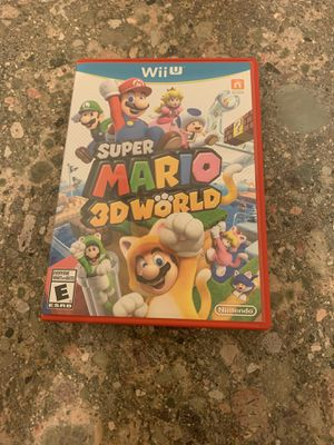 Super Mario 3D World (Nintendo Wii U, 2013) - CIB / Complete And Tested for Sale in Lewisville, TX