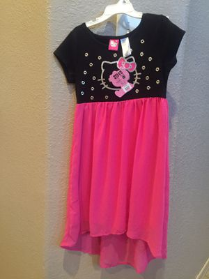 New Hello Kitty Dress Girls Size 6 for Sale in El Paso, TX