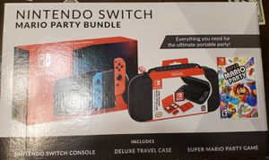 NINTENDO SWITCH MARIO PARTY BUNDLE NEW ! for Sale in LaSalle, IL