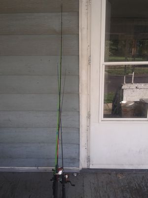 4 fishing poles for Sale in Peoria, IL
