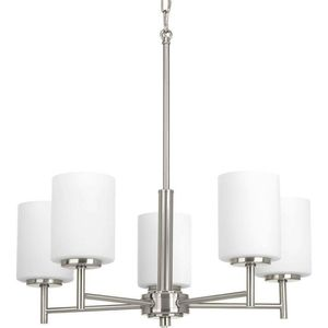 Progress Lighting Replay Collection 5-Light Brushed Nickel Chandelier For Indoor Living Room Bedroom for Sale in Henderson, NV