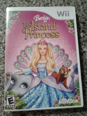 Wii GAME: BARBIE AS THE ISLAND PRINCESS for Sale in Manteca, CA