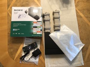 Sony BDPS3700 Streaming Blu-Ray Disc Player with Wi-Fi for Sale in Orlando, FL
