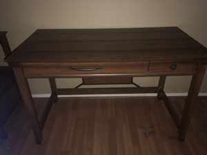 Desk with printer table/filing drawer for Sale in Magnolia, TX