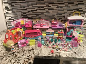 Huge Shopkins and Happy places toy lot for Sale in Stockton, CA