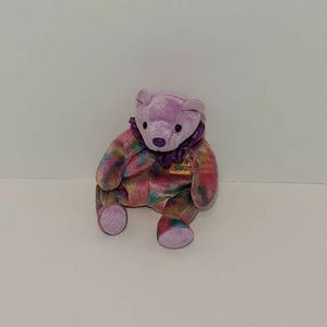 "5"" Purple Circus Bear Beanie Babie for Sale in Irvine, CA"