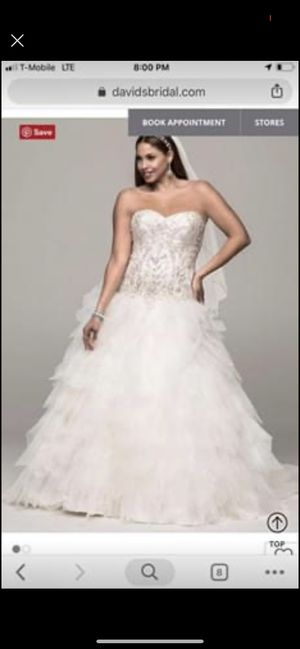 Brand new wedding dress for Sale in Everett, WA
