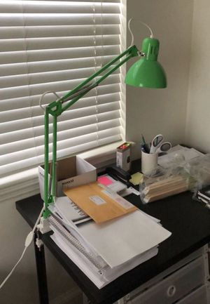 IKEA DESK LAMP, GREEN, MODERN DESIGN! for Sale in Arlington, VA