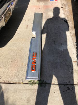C10 parts GMC tailgate molding trim fit from 1981 to 1986 for Sale in Moreno Valley, CA