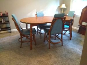 Dining table and 4 chairs, Bam Tan Products Inc for Sale in Lawrenceville, GA