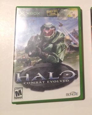 Halo Combat Evolved (Opened XBox Game) for Sale in Elkins, WV