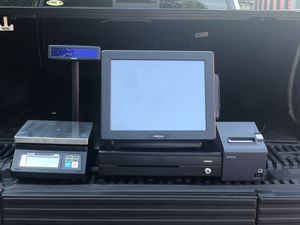 POS SYSTEM WITH SCALE, PRINTER and CASH DRAWER! for Sale in Fulton, MD