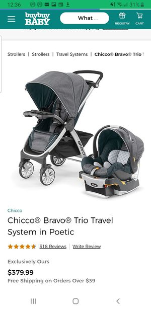 Chicco Bravo Set LIKE NEW for Sale in Puyallup, WA