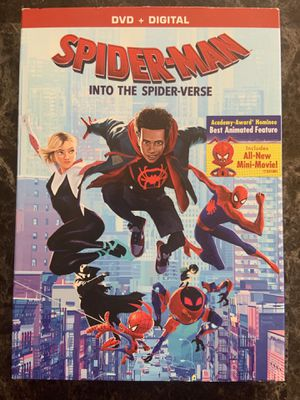 Spider-Man Into The Spiderverse DVD for Sale in Fremont, CA