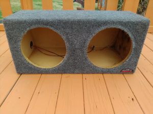 Dual 12 inch subwoofer box for Sale in Missoula, MT