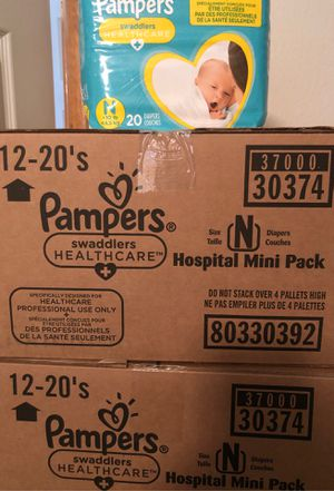 Pampers Newborn Case for Sale in North Las Vegas, NV