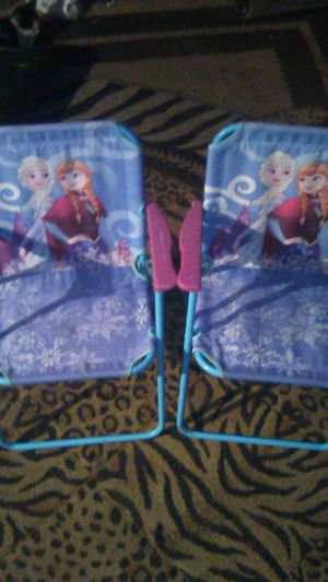 kids Frozen folding chairs for Sale in Guadalupe, AZ
