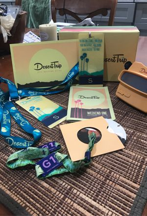 2016 Welcome VIP Welcome Box for Desert Trip for Sale in Boca Raton, FL