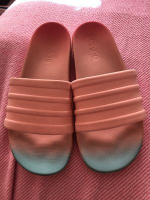 Women's adidas size 7 slide sandals for Sale in Lynchburg, VA