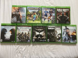 Xbox One games for Sale in IRVING, TX