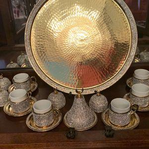 Crystalized Turkish Tea Set for Sale in Marietta, GA