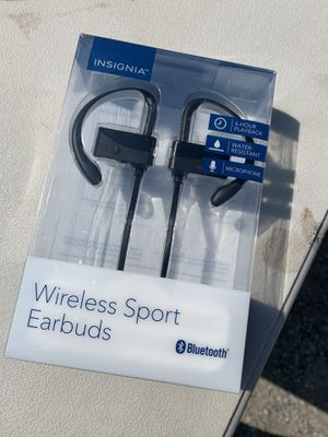 Wireless sport earbuds for Sale in Brooklyn, OH