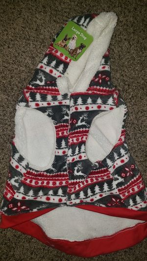 Large Dog Christmas sweater for Sale in Riverside, CA