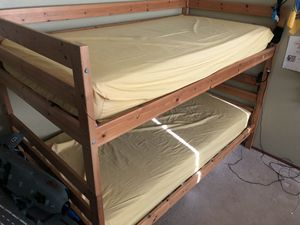 Bunk beds included mattresses for Sale in Hayward, CA