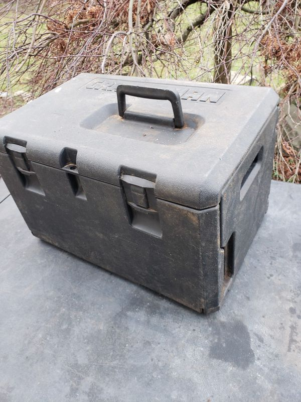 Craftsman gas chainsaw , no bar with case
