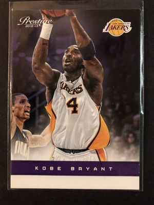 Kobe Bryant 2012 Panini Prestige Basketball Card. Kobe Bryant LA LAKERS Basketball Trading Card for Sale in Chicago, IL