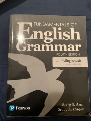 Fundamentals of English Grammar Fourth Edition for Sale in Hialeah Gardens, FL