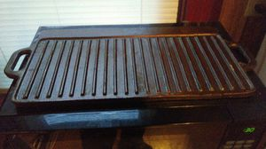 Cast iron griddle pans for Sale in Woonsocket, RI