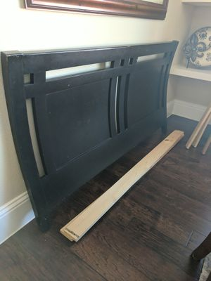 Queen size bed frame and rails for Sale in Prosper, TX
