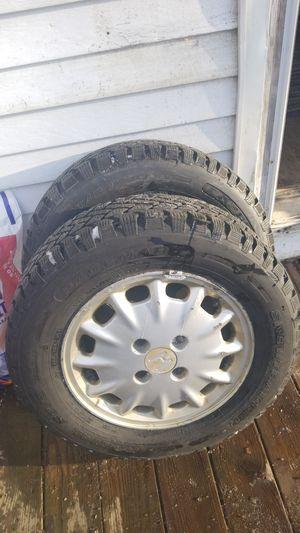 Honda snow tires and rims for Sale in Sturbridge, MA