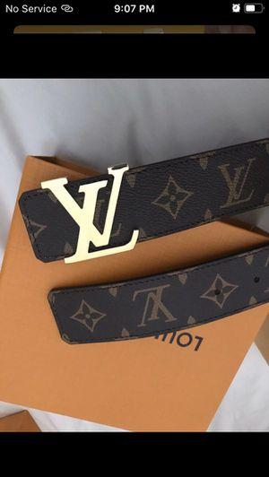 Louis Vuitton brown belt for Sale in Arlington, TX