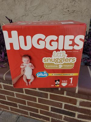 192 Huggies DIAPERS SIZE 1 for Sale in Los Angeles, CA