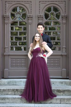 Maroon Prom Dress for Sale in Tampa, FL