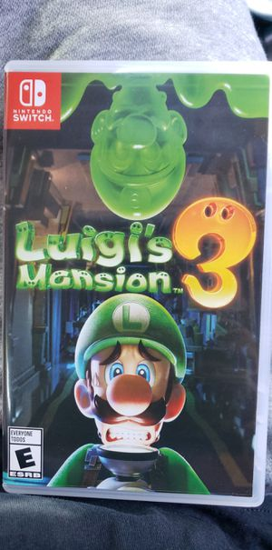 Luigi's Mansion 3. Nintendo Switch for Sale in Long Beach, CA