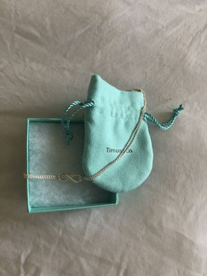 Tiffany's infinity necklace for Sale in Mountain View, CA