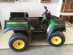 Little jeep tractor needs battery for Sale in St. Petersburg, FL