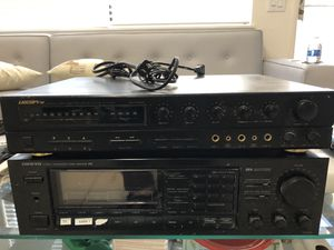 Karaoke set: Onkyo, Vocal Pro, Sony Speakers for Sale in Garden Grove, CA