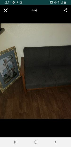 Futon couch / bed must go today for Sale in Las Vegas, NV