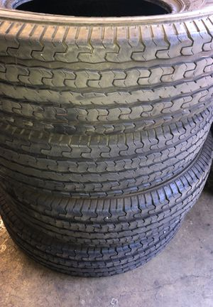 4x TIRES ST 235/80R16 ONYX NY-ST179 for Sale in Lakewood, WA