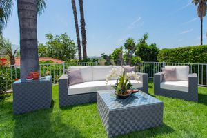 5x Braid Deep Seating Patio Set Cream and Grey Color- Brand New Factory direct! $1999 instead of $5000! Outdoor Patio Furniture for Sale in Ontario, CA